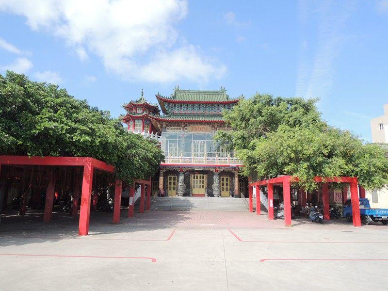安良廟入口