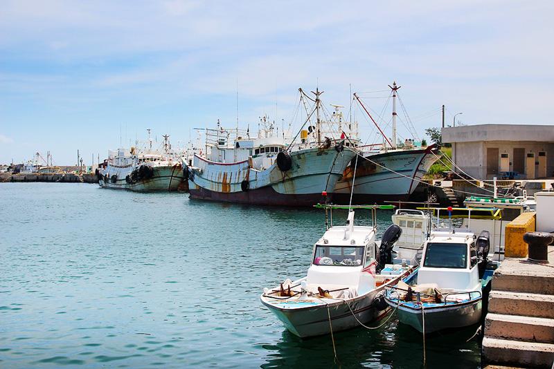 山水碼頭漁業